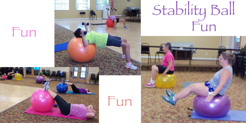 Beth's Fitness for Life - Stability Ball Fun